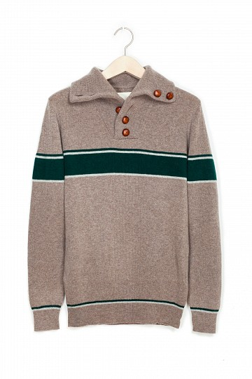 Band of Outsiders Split Collar Sweater, $319.20