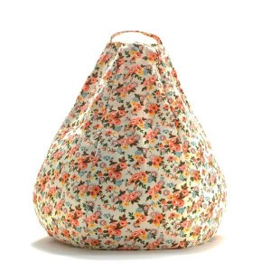 Lale Theo Flowers Beanbag