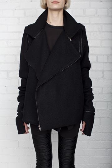 Rad Hourani Transformable Crossover Jacket $1625