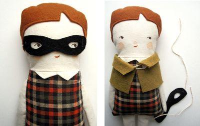 The Pretend Bear Doll - Bandit