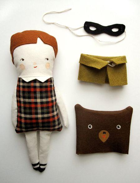 The Pretend Bear Doll