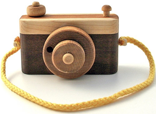 Wood Camera $32