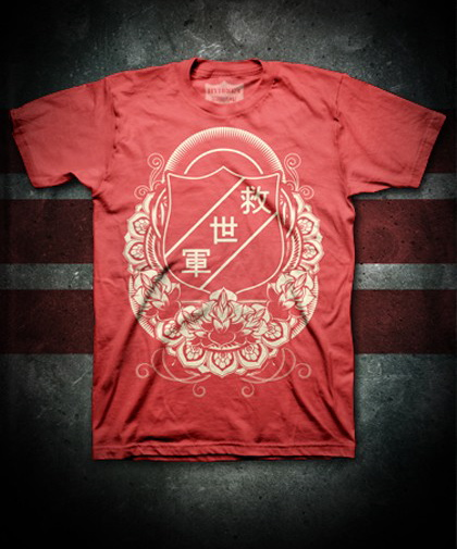 Army for Japan Tee $20