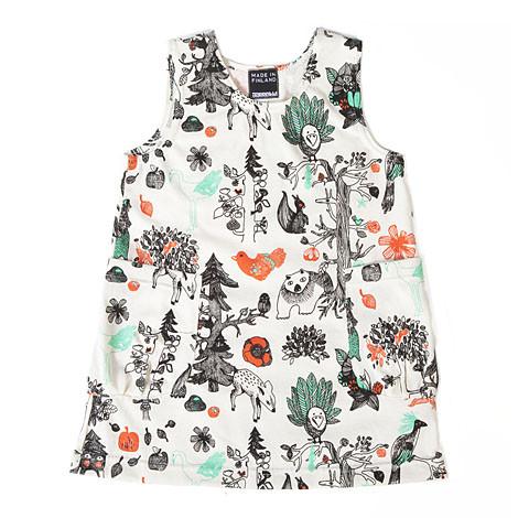 Aarrekid Enchanted Forest Dress