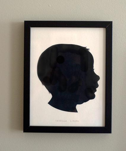Custom Cut Paper Silhouette