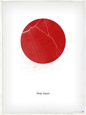 Help Japan Poster