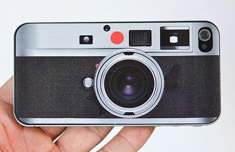 iPhone 4 Leica Look-Alike Skin $13