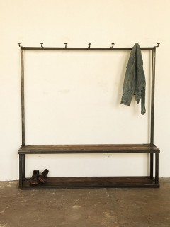 Strawser & Smith Coat Rack Bench