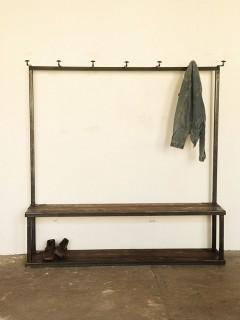 Strawser & Smith Coat Rack Bench