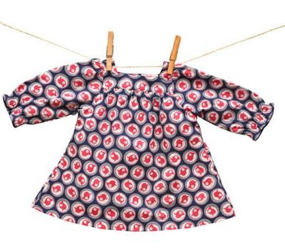 La Queue du Chat Print Dress $56
