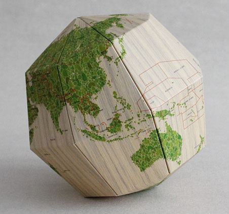 Sectional Paper Globe