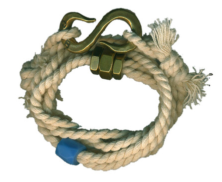 Giles & Brother Twisted Rope S-Hook Bracelet $85