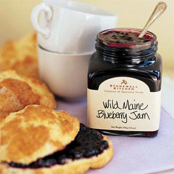 Stonewall Kitchen, Wild Maine Blueberry Jam