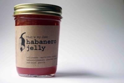 That's my Jam! Habanero Jelly