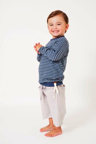 Go Gently Baby Tee, $44 & Kangaroo Shorts, $44