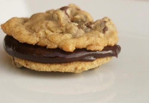 Chocolate Chip Ganache Cookies