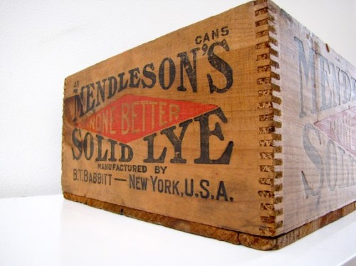 Mendleson Wooden Crate, $68