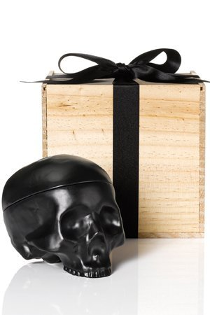 Ceramic Skull Jewelry Box, $379