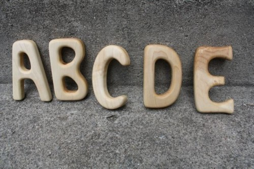 ABC Personalized Rattles