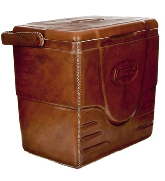 Leather Cooler, $497