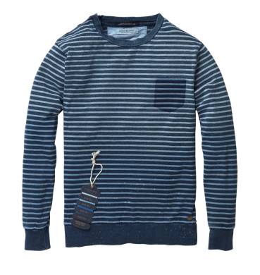 Scotch & Soda Crewneck Cotton Sweater