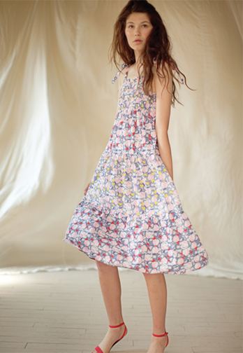 Built by Wendy Marbella Floral Two Tone Sundress, $245