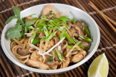 Chicken and Shiitake Mushroom Stir Fry