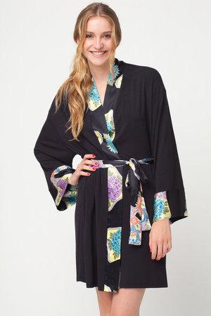 Doie Lounge Kimono-Style Robe, $136