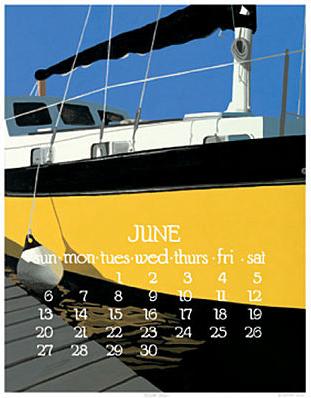 Dana Heacock, Abacus Calendar