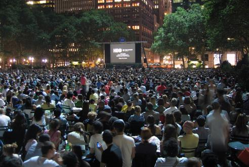 Bryant Park HBO Summer Film Festival