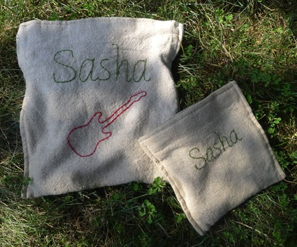 Canvas Snack Bags
