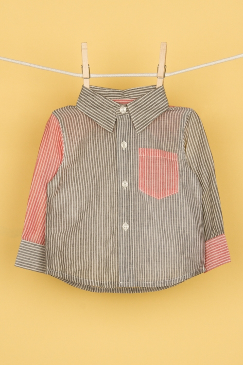 Aaron Patchwork Shirt