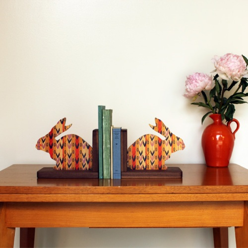 Wolfum Bookends