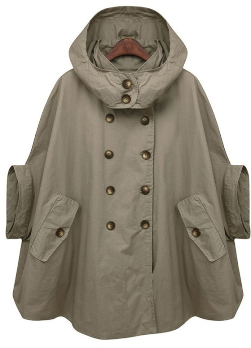 FM908 Coat with Removable Hood