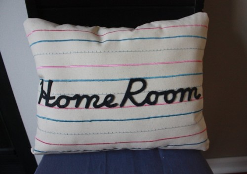 Penmanship Pillow