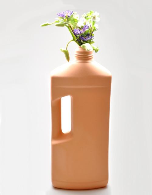 Motor Oil Vase