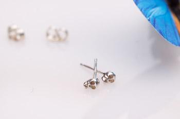 Iwona Ludyga Tiny Skull Earrings