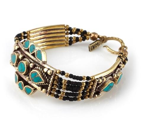 Vanessa Mooney Moonstone Bracelet