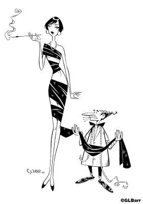 Glenn Barr design for Anna Sui