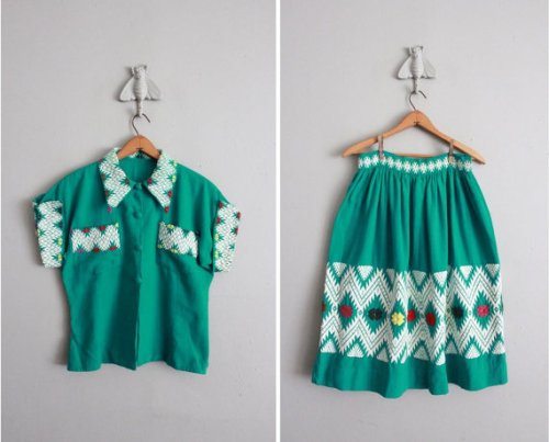 Oaxacan Skirt Set