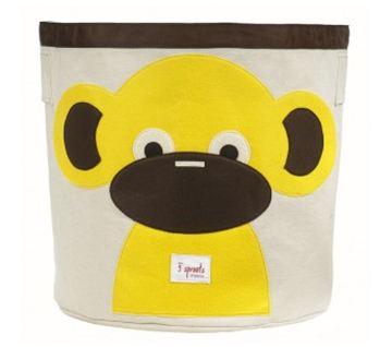 Sprout Monkey Storage Bin, $40