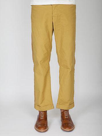 Human Made Brown Duck Work Pants