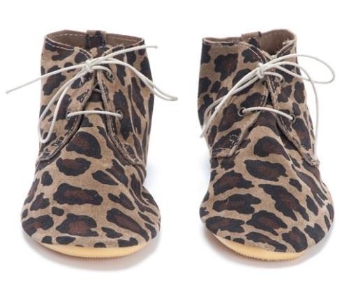 Anniel Leopard Desert Boot, $175.00