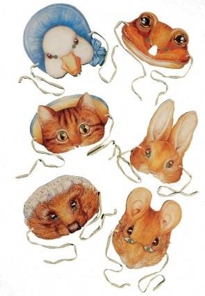 Beatrix Potter Masks