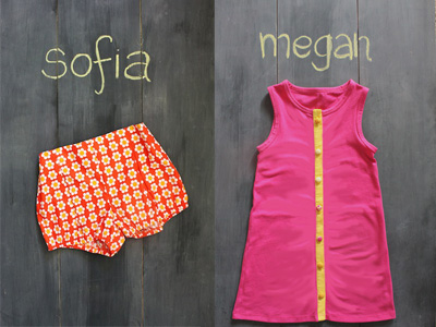 Sofia Shorts & Megan Dress