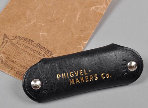Phigvel Makers Co. Horsehide Key Holder, $59.00