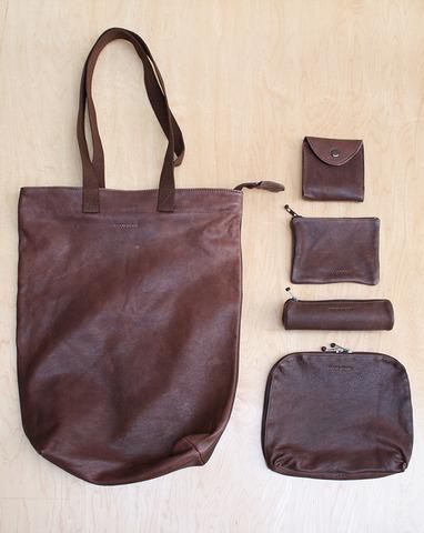 Wood Wood Leather Set