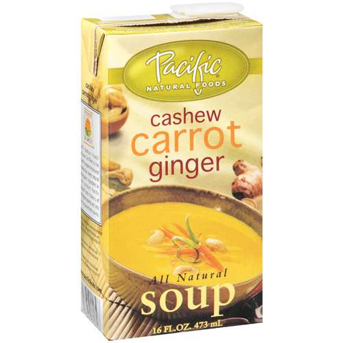 Cashew Carrott Ginger Soup