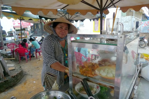 Lunch lady – Ho Chi Mihn City, Vietnam