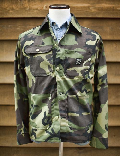Camouflage Chore Coat